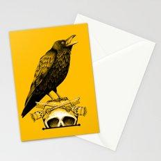 Black Crow, Skull and Cross Keys Stationery Cards