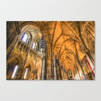 Southwark Cathedral Lond… Canvas Print
