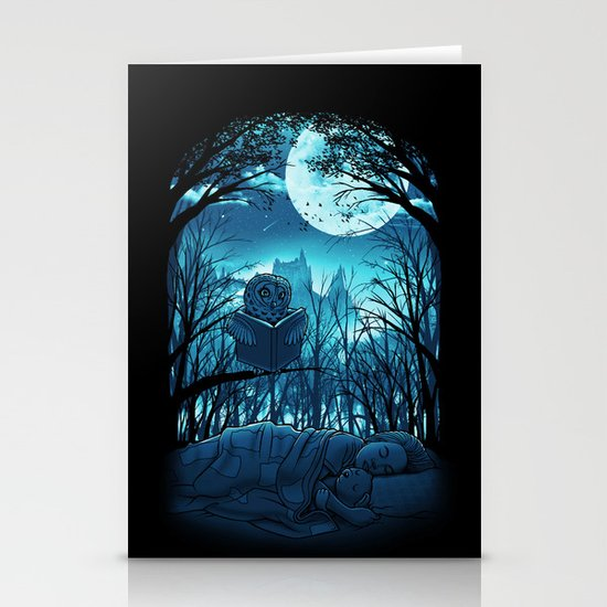 Bedtime Story Stationery Card