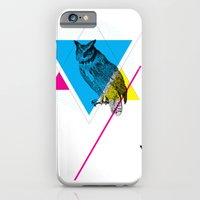iPhone & iPod Case featuring HYPSTER OWL by Fancy Ferret Studios