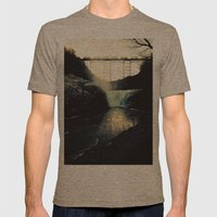 Trestle Dusk Mens Fitted Tee Tri-Coffee SMALL