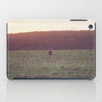 Kangaroo at Sunset iPad Case