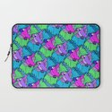 Tessellated Parrots Pink Laptop Sleeve