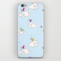 cotton cloud iPhone & iPod Skin