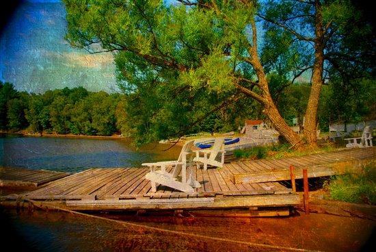 Live Near Water Art Print