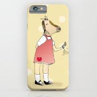 Little Horse Girl iPhone 6 Slim Case