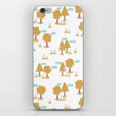 Butterfly Garden - Trees iPhone & iPod Skin