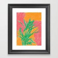 Plant, 2013. Framed Art Print