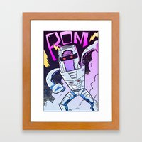 ROM! Framed Art Print