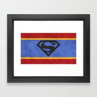 Super Colors Framed Art Print