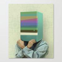 Hiding Canvas Print
