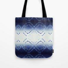 Tie-Dye Dia Blue Tote Bag