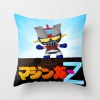 Mazinger ! Throw Pillow
