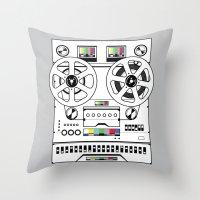 1 kHz #6 Throw Pillow