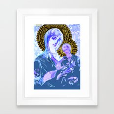 Mary and Jesus  Framed Art Print