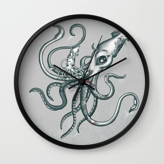 The New Ink Wall Clock