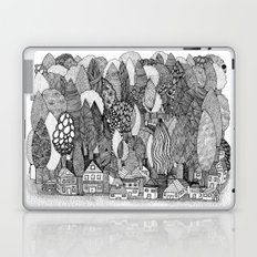 Mysterious Village Laptop & iPad Skin
