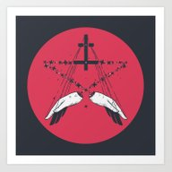 Art Print featuring Idle Hands Are The Devil… by Andbloom