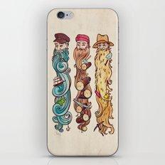 Working Man's Beard iPhone & iPod Skin