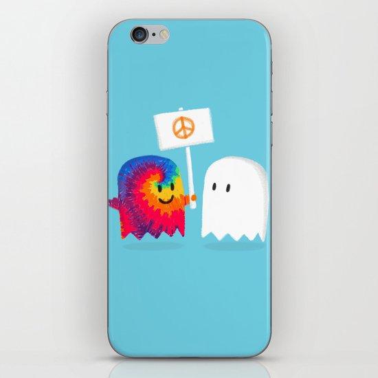 Hippie ghost iPhone & iPod Skin