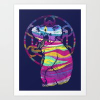 Enlightended  Koala Art Print