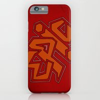 EPiC on red iPhone 6 Slim Case