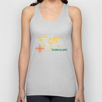 The World is a Book Unisex Tank Top