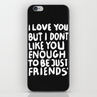 JUSTFRIENDS iPhone & iPod Skin