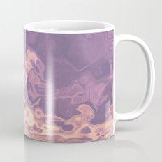 Gold violet pattern Mug