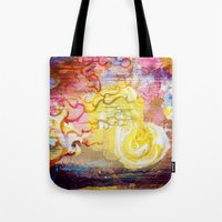 Vegan Eggyolk Behind A T… Tote Bag