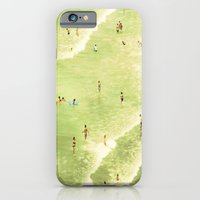 iPhone & iPod Case featuring Let's Go Swimming by Maite Pons