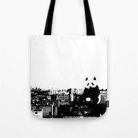 Giant Panda Invades Toa Payoh. Tote Bag