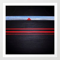The Light Of The Triangl… Art Print