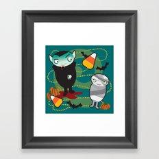 VooDoo Vampire Framed Art Print