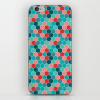 Honeycomb II iPhone & iPod Skin