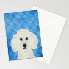 Poodle Dog Stationery Cards
