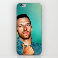 Blue Eyes iPhone & iPod Skin