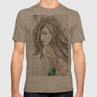 Women_colors Mens Fitted Tee Tri-Coffee SMALL