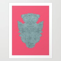 repetition series let's make love Art Print