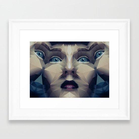 Facet_CD2 Framed Art Print
