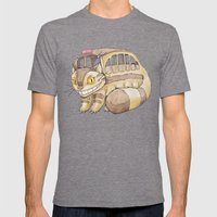 Magical Bus Ride Mens Fitted Tee Tri-Grey SMALL