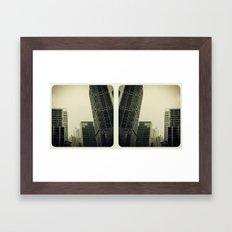 Dwntwn Framed Art Print