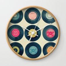 Vinyl Collection Wall Clock