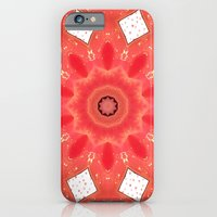 iPhone & iPod Case featuring Burning love by Pink grapes