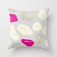 Leopard Print 2 Throw Pillow