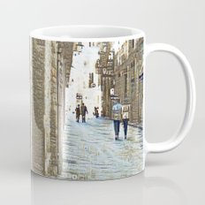 Barcelona digital street photography + Dreamscope Mug