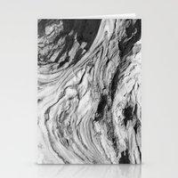 Monolithic Erosion Swirl Stationery Cards