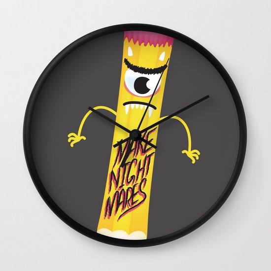 Make Nightmares!  Wall Clock