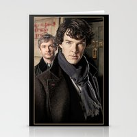 sherlock Stationery Cards featuring Sherlock  by SRB Productions