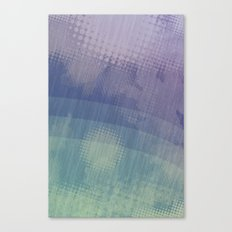 Halftone Borealis Canvas Print